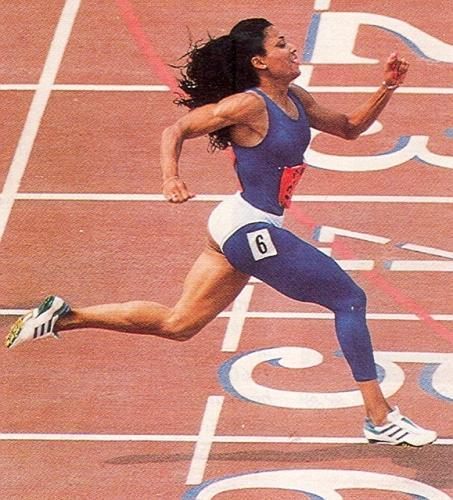 African American Female Track Amp Field Runners